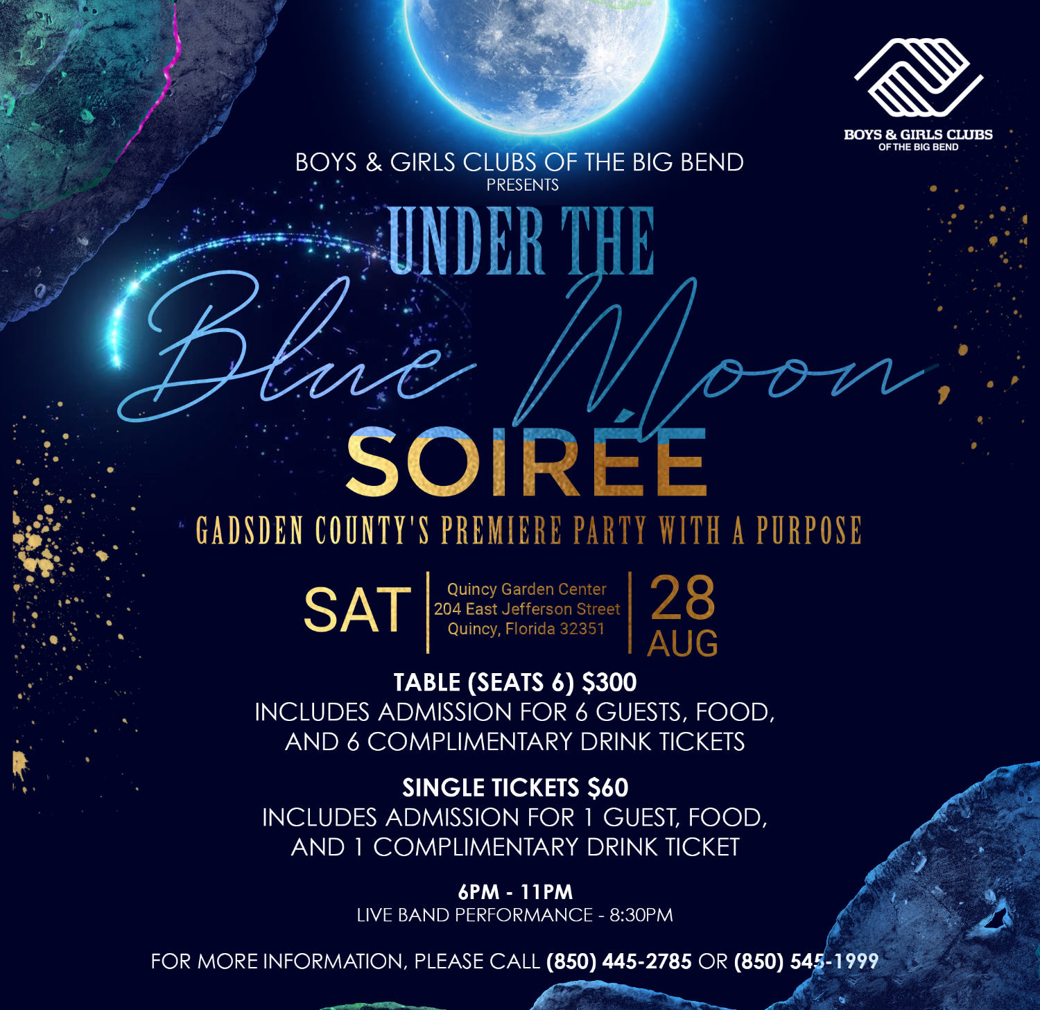 Under The Blue Moon Soiree